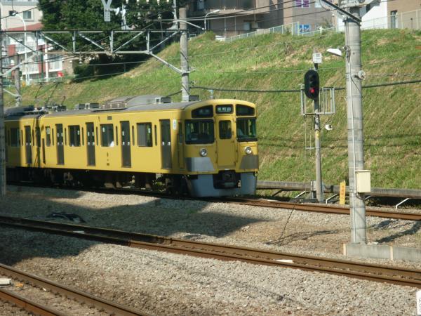 2013-09-21 西武2051F 各停東村山行き