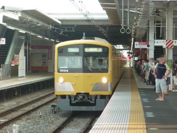 2013-08-09 西武3003F 回送