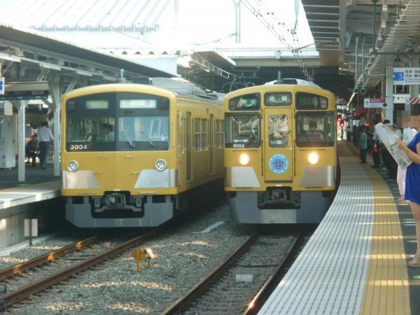 2013-08-19 西武3003F 回送 9104F 準急池袋行き
