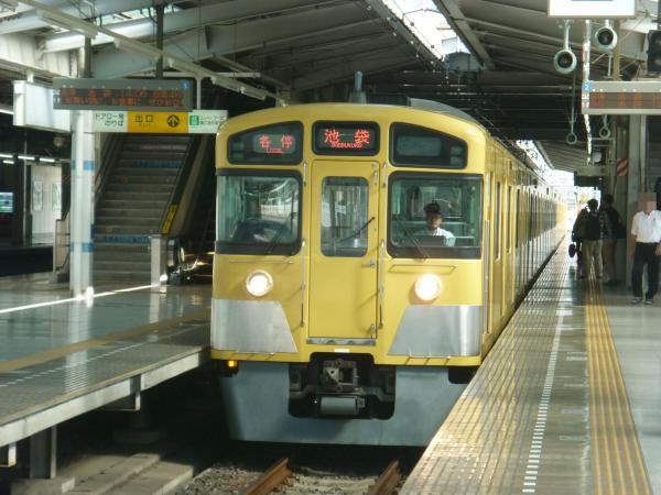 2013-09-28 西武2087F 各停池袋行き1