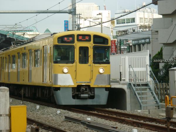 2013-09-28 西武2087F 各停飯能行き