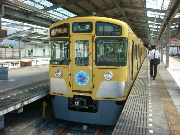 2013-09-28 西武9107F 急行池袋行き