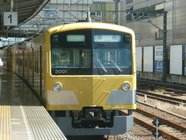 2013-09-28 西武3001F 臨時4