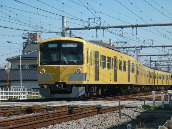 2013-09-28 西武3001F 臨時6