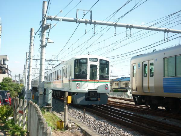 2013-09-28 西武4015F+4003F 各停西武秩父行き4
