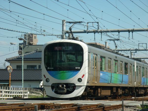 2013-09-28 西武32102F+38104F 急行池袋行き4