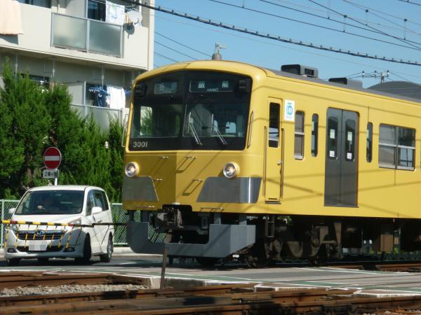 2013-09-28 西武3001F 各停飯能行き4