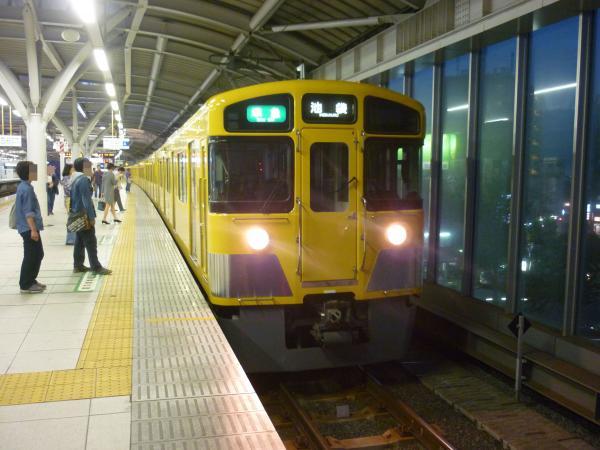 2013-10-06 西武2455F+2063F 準急池袋行き