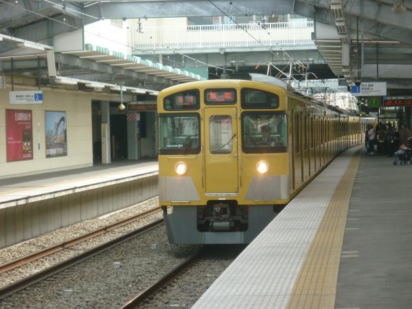 西武2089F 各停飯能行き1 2013-03-23