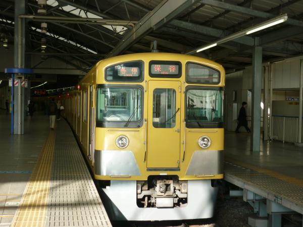 西武2089F 各停保谷行き 2013-02-02