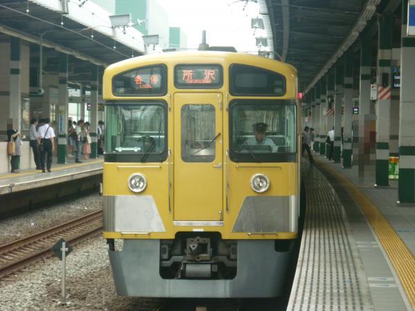 2013-07-26 西武2089F 各停所沢行き2