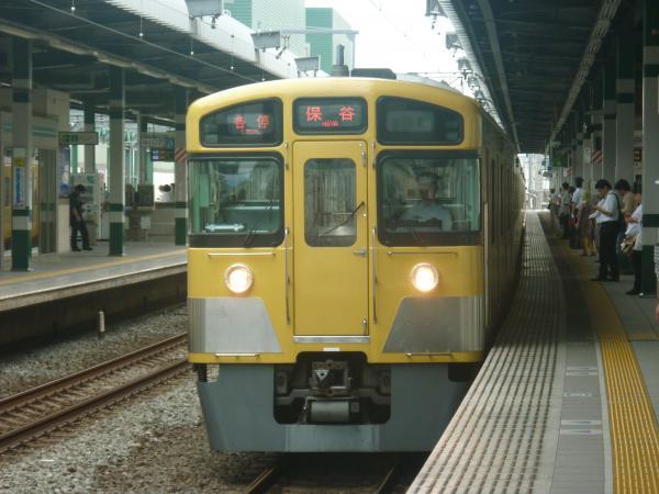2013-08-24 西武2089F 各停保谷行き