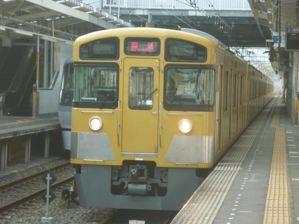 2013-08-30 西武2089F 回送2