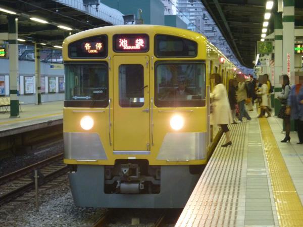 2013-10-19 西武2073F 各停池袋行き1