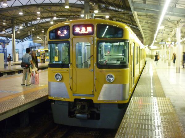 2013-10-19 西武2073F 各停豊島園行き