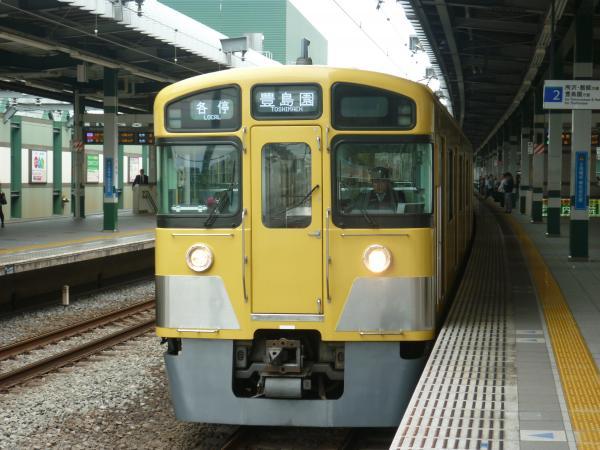 2013-10-19 西武2089F 各停豊島園行き3