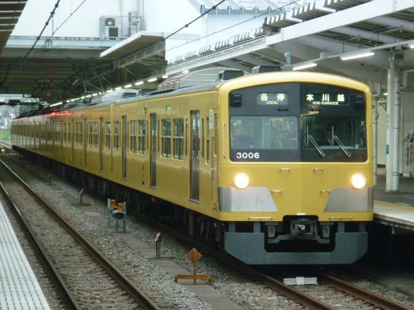 2013-10-19 西武3005F 各停本川越行き