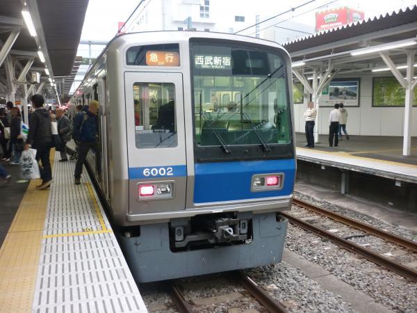 2013-10-19 西武6102F 急行西武新宿行き