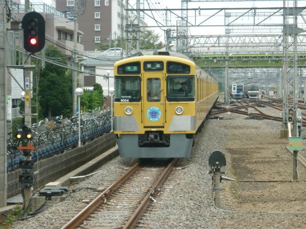 2013-10-19 西武9104F 準急飯能行き6