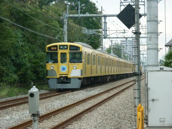 2013-10-19 西武9107F 急行飯能行き2