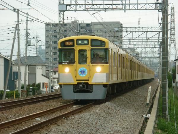 2013-10-19 西武9108F 急行飯能行き