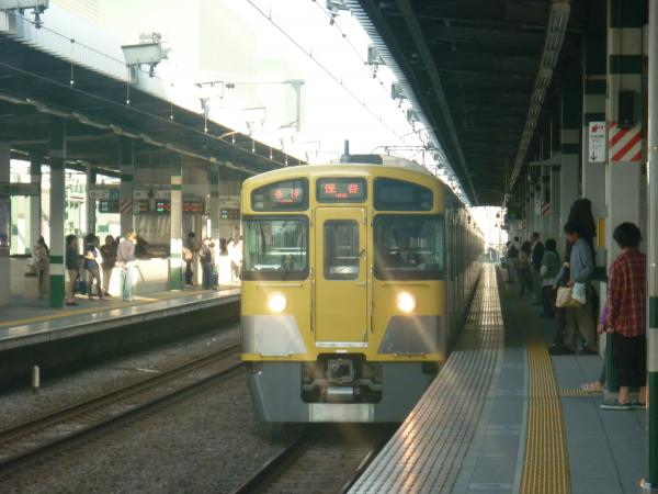 西武2089F 各停保谷行き 2012-10-20