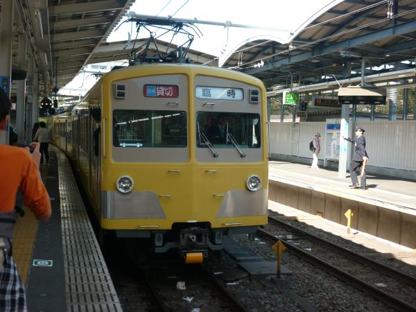 西武271F+281F 団臨3 2012-10-21