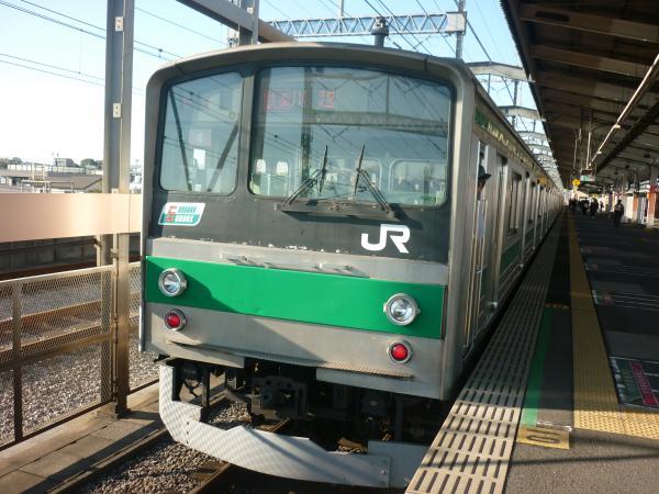 2013-10-27 埼京線205系ハエ4編成 快速川越行き2