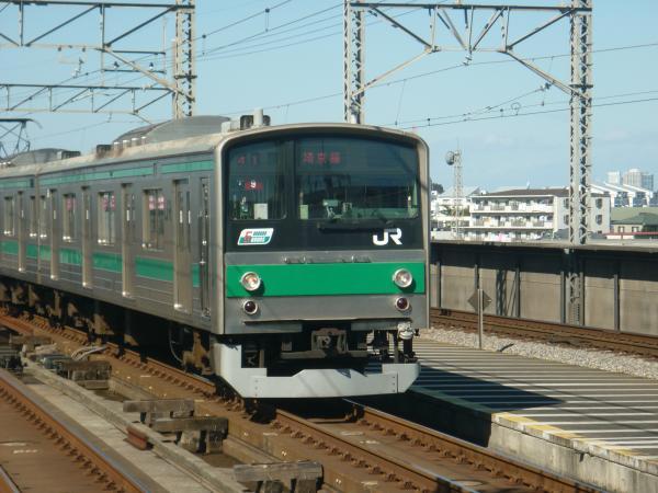 2013-10-27 埼京線205系ハエ9編成 新宿行き1