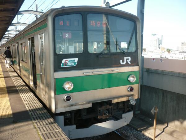 2013-10-27 埼京線205系ハエ9編成 新宿行き4
