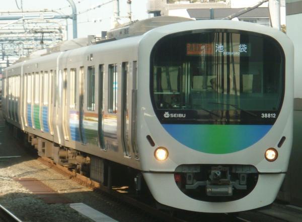 2013-11-01 西武32104F+38112F 通勤急行池袋行き