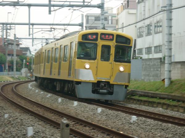 2013-11-03 西武2087F 各停小手指行き1