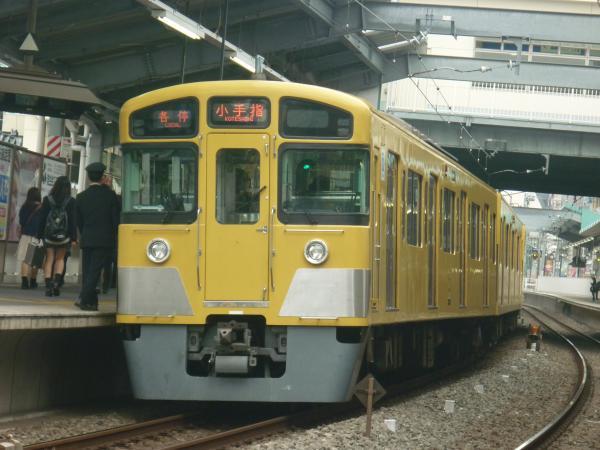 2013-11-03 西武2087F 各停小手指行き2