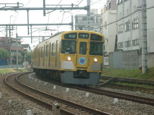 2013-11-03 西武9107F 準急入間市行き1