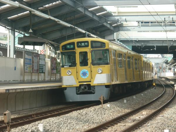 2013-11-03 西武9107F 準急入間市行き2
