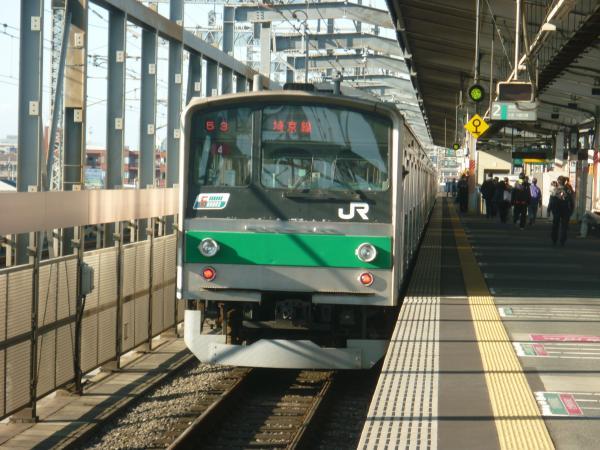 2013-10-27 埼京線205系ハエ4編成 快速川越行き3