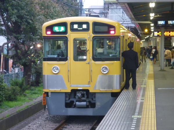 2013-11-09 西武2063F 準急飯能行き