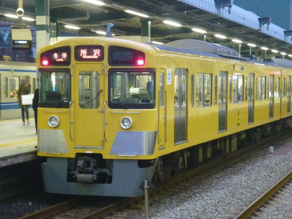 2013-11-09 西武2073F 各停所沢行き1