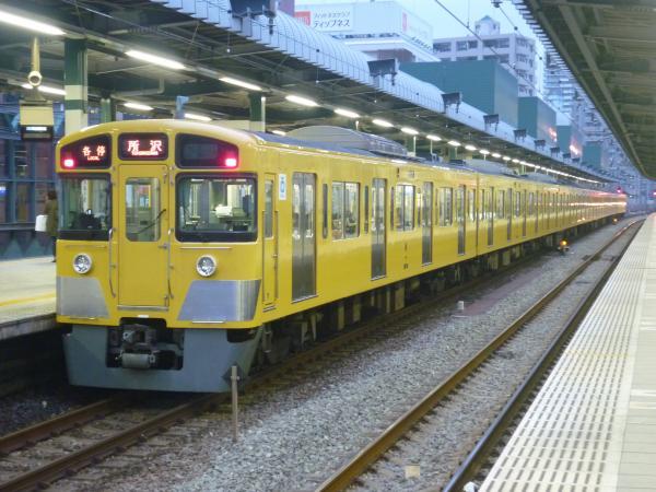 2013-11-09 西武2073F 各停所沢行き2