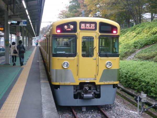 2013-11-09 西武2085F 各停西所沢行き1