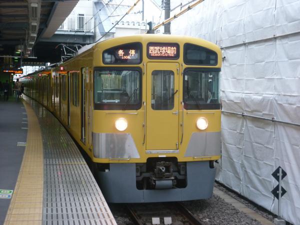 2013-11-09 西武2085F 各停西武球場前行き3