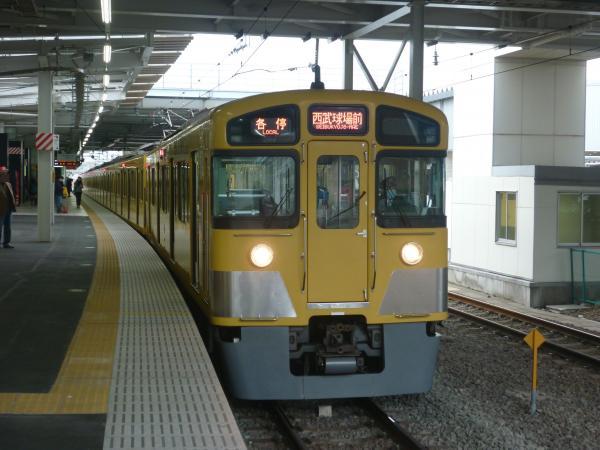 2013-11-09 西武2085F 各停西武球場前行き4