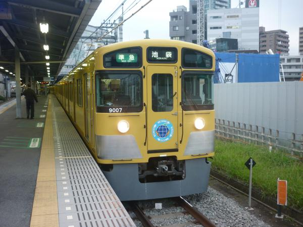 2013-11-09 西武9107F 準急池袋行き2