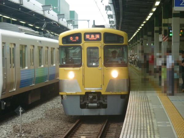 2013-07-13 西武2083F 各停豊島園行き1