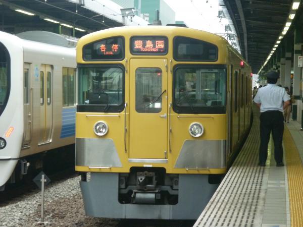 2013-07-13 西武2083F 各停豊島園行き2