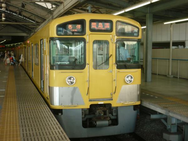 2013-08-18 西武2083F 各停豊島園行き