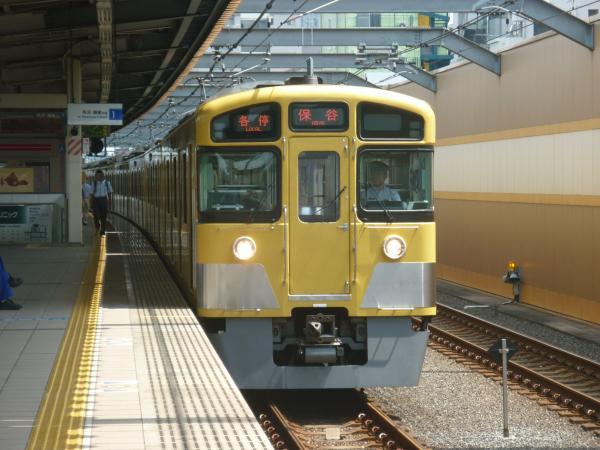 2013-08-29 西武2083F 各停保谷行き1