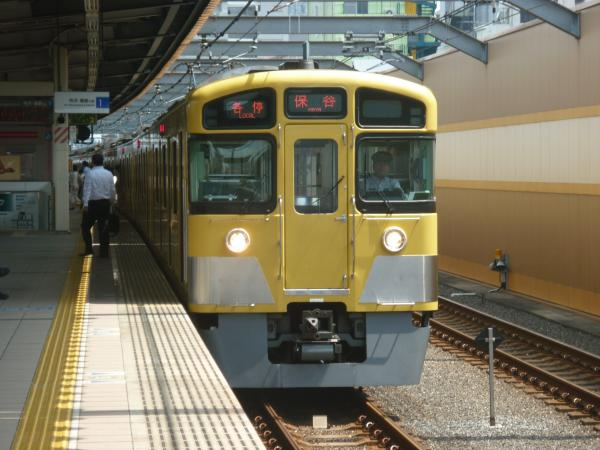 2013-08-29 西武2083F 各停保谷行き2