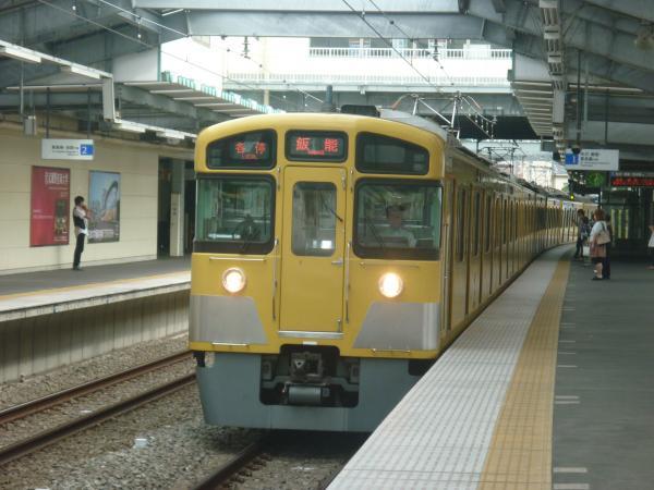 2013-09-14 西武2083F 各停飯能行き1