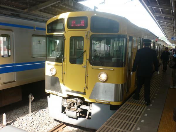 2013-11-03 西武2083F 回送1